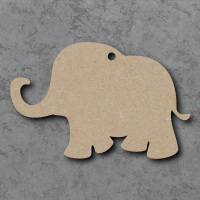 Elephant Blank Craft Shapes
