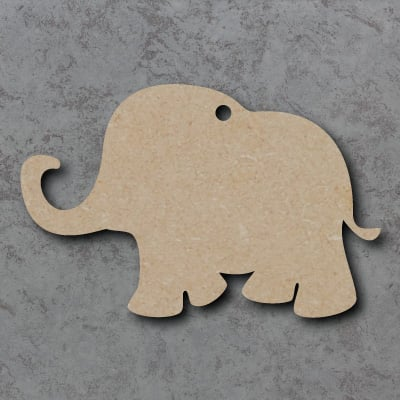 Elephant Wooden Craft Shapes