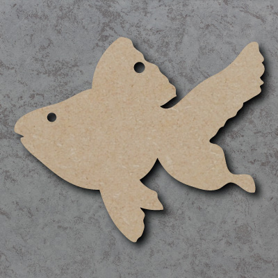 Fish Wooden Craft Shapes