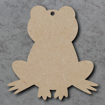 Frog Wooden Craft Shapes