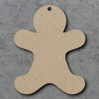 Gingerbread Man Blank Craft Shapes