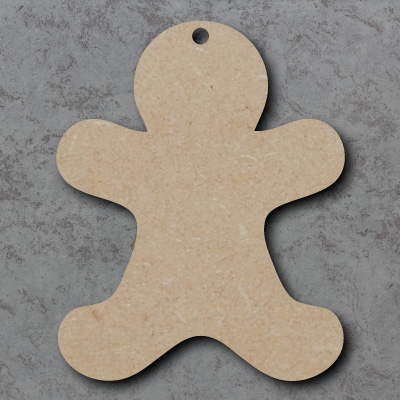 Gingerbread Man Craft Shapes