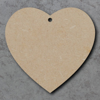 Heart 01 Blank Craft Shapes