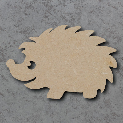 Hedgehog Wooden Craft Shapes