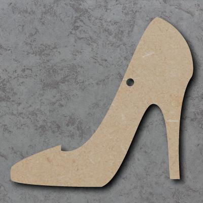 High Heels Wooden Craft Shapes