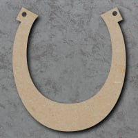 Horse Shoe Blank Craft Shapes