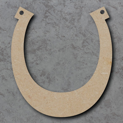 Horse Shoe Craft Shapes