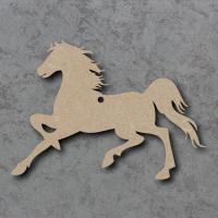 Horse 01 Running Blank Craft Shapes