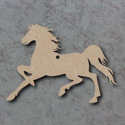 Horse Wooden Craft Shapes