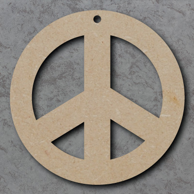 Peace Circle Wooden Craft Shapes