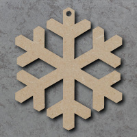 Snowflake 01 Blank Craft Shapes