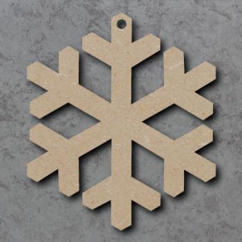 Snowflake 01 Blank Craft Shapes