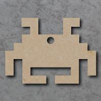 Space Invader Alien Blank Craft Shapes