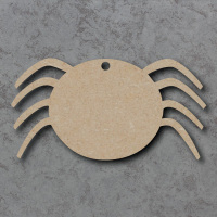 Spider Blank Craft Shapes