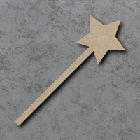 Star Wand Craft Shapes