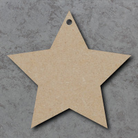 Star 01 Blank Craft Shapes