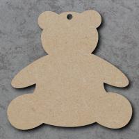 Teddy Bear Blank Craft Shapes