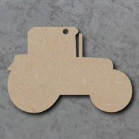Tractor Blank Craft Shapes