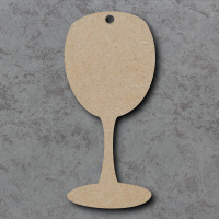 Wine Glass Blank Craft Shapes