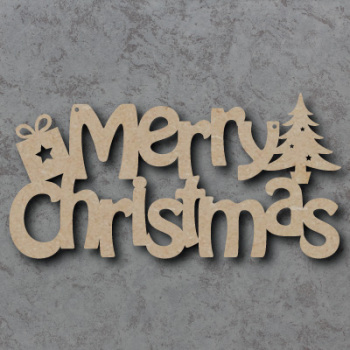 Merry Christmas Craft Sign