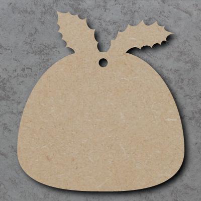 Christmas Pudding Craft Shapes