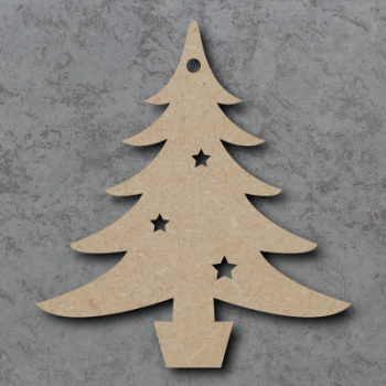 Christmas Tree Blank Craft Shapes