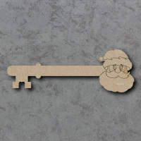 Santa Key Detailed Craft Shapes
