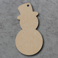 Snowman Blank Craft Shapes