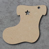 Stocking 01 Blank Craft Shapes