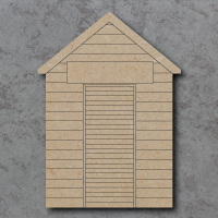 Beach Hut Detailed Craft Shapes