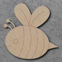 Bee A Detailed Craft Shapes