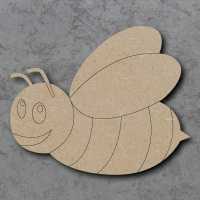 Bee B Detailed Craft Shapes