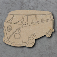 Camper Van Detailed Craft Shapes