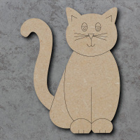 Cat Detailed Craft Shapes