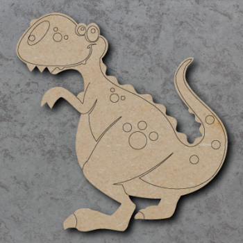 Dinosaur - T Rex Craft Shapes