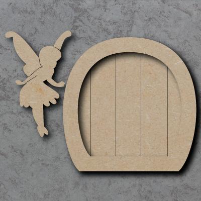 Fairy door with fairy for Fairy door shapes