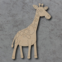 Giraffe Detailed Craft Shapes