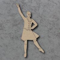 Highland Dancer C Detailed Craft Shapes