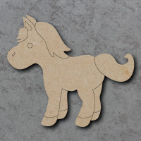 Pony Detailed Craft Shapes