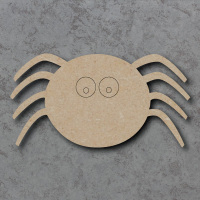 Spider Detailed Craft Shapes