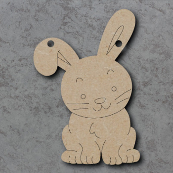 Bunny Bunting mdf Shapes