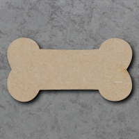 Dog Bone Blank Craft Shapes