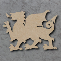 Dragon Blank Craft Shapes
