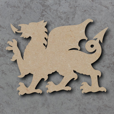 Dragon Wooden Craft Shapes