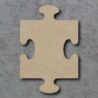 Jigsaw Piece Blank Craft Shapes