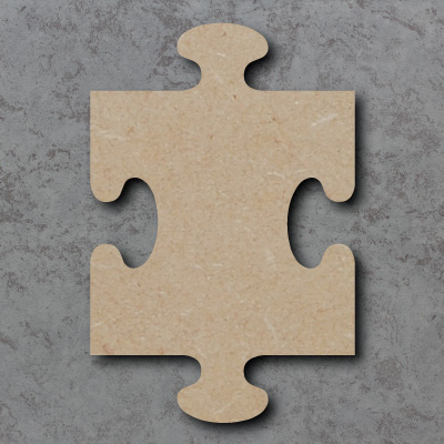 Jigsaw Piece Craft Shapes