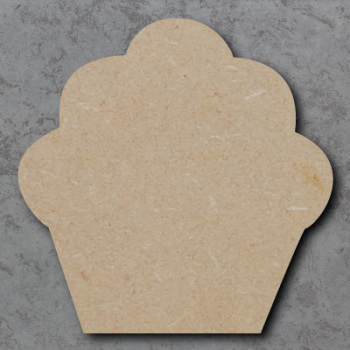 Cupcake 02 Blank Craft Shapes