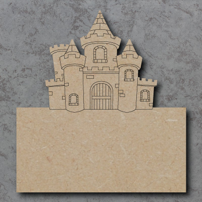 mdf Castle Plaque