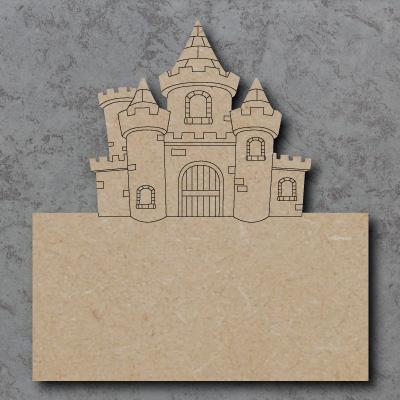 mdf Castle Plaque