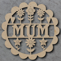 Mum Flower Sign
